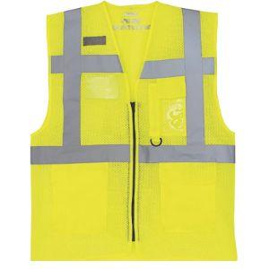 Yoko Yellow Mesh Safety Vest