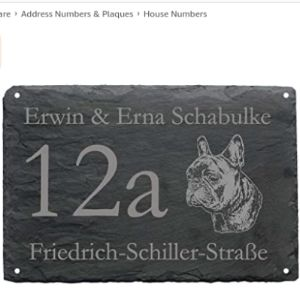 French House Number