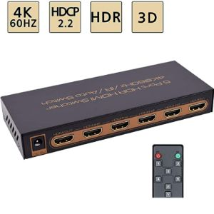 Awakelion Hdmi Switch 4K Support