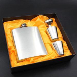Easyu Vintage Leather Hip Flask