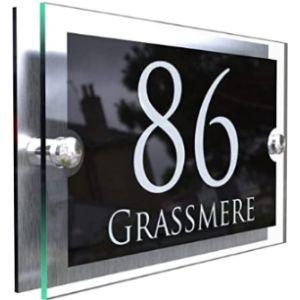Design House Number Plaque