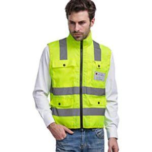 Enjohos S Police Safety Vest Reflective