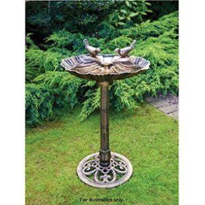 Garden Studio Stone Bird Table