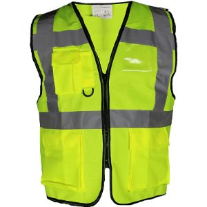 Global Attire Tape Safety Vest With Reflective