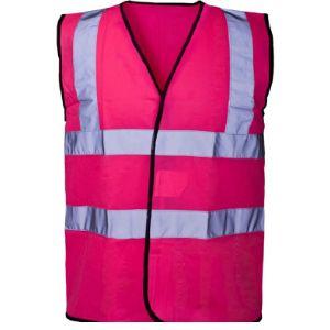 Expert Workwear Dark Green Safety Vest