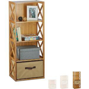 Relaxdays Freestanding Bathroom Shelf
