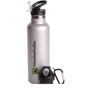 Visit The Adventureaustria Store Stainless Steel Water Bottle Flip Top
