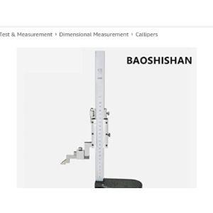 Baoshishan St Accuracy Vernier Height Gauge