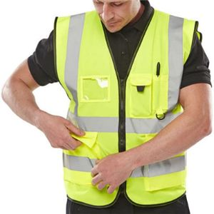 Expert Workwear Horse Riding High Visibility Vest