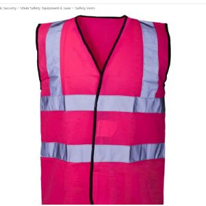 Expert Workwear Printing High Visibility Vest