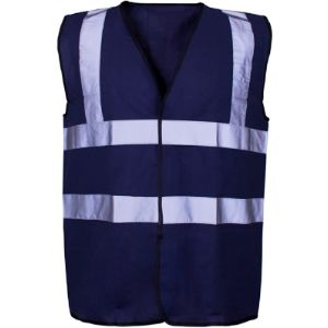 Expert Workwear Reflective Safety Vest With Company Logo