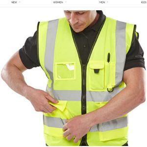 Expert Workwear Safety Vest Jacket