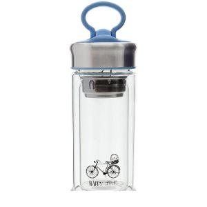 Saim Glass Travel Water Bottle