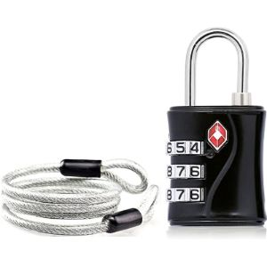 Aspen Luggage Lock Cable