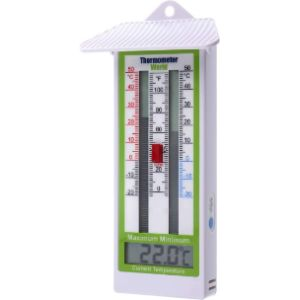 Thermometer World Digital Greenhouse Max Min Thermometer
