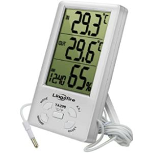 Cestmall Digital Large Display Outdoor Thermometer