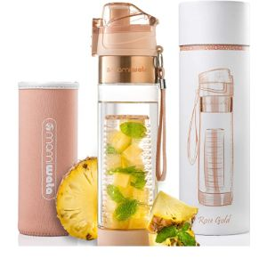 Mami Wata Fruit Infused Water Bottle Glass