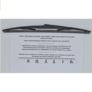 Cooks Good Quality Exact Fit Rear Wiper Blade