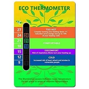 Colour Changing Baby Wall Thermometer