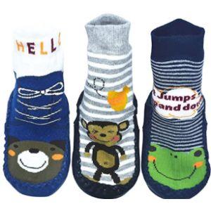 Bompow Boy Chart Sock Size