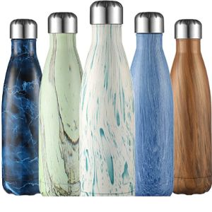 Liveup Sports Holder Pattern Insulated Water Bottle