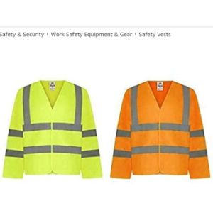 Traega Class 3 High Visibility Vest