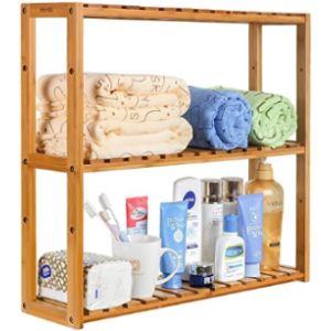 Homfa Small Bathroom Shelf