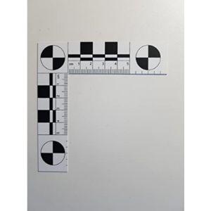 Atg Kriminaltechnik Gmbh Plastic Angle Ruler