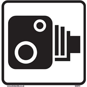 Stickerzilla Speed Camera Sign