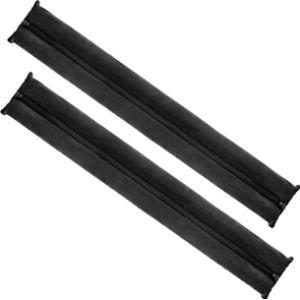 Com-Four Door Draft Stopper Black