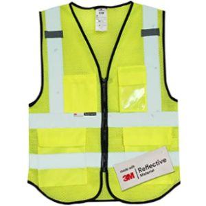 Salzmann Yellow Mesh Safety Vest