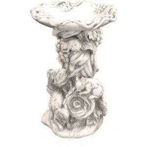 Solstice Sculptures Bird Bath Sculpture