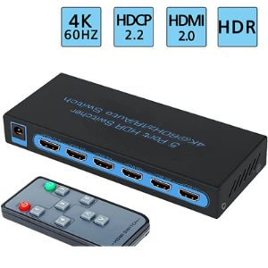 Fivehome Hdmi Switcher Hdcp
