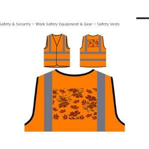 Innoglen Pattern Safety Vest