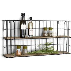 Lifa Living Bar Corner Shelf
