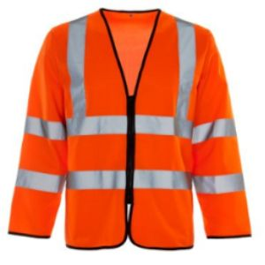 Supertouch Class 3 High Visibility Vest