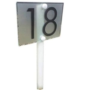 Lawn Sign House Number
