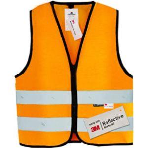 Salzmann Orange Reflective Safety Vest