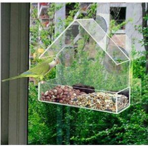 Mgx Perspex Window Bird Feeder