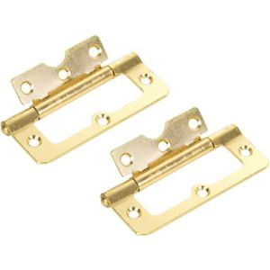 White Hinge Flush Hinge 100Mm