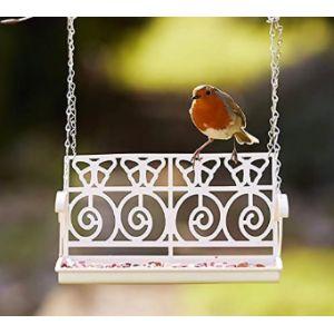 Garden Mile Covered Bird Feeding Station