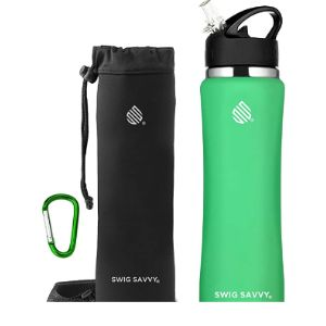 Swig Savvy Wide Mouth Insulated Water Bottle