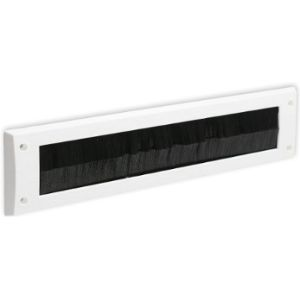 White Hinge Letterbox Draft Excluder