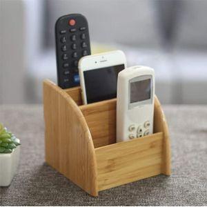 Holzsammlung Remote Control Organizer Box