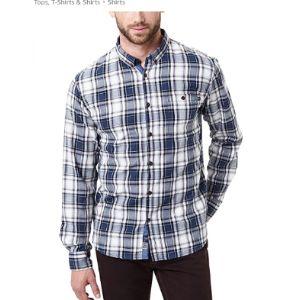 Pioneer Herringbone Pattern Shirt