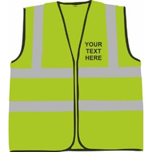 Prospo Personalised High Visibility Vest