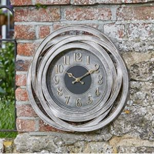 Visit The Homezone Store Garden Wall Clock Thermometer