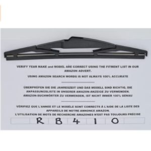 Cooks Exact Fit Rear Wiper Blade