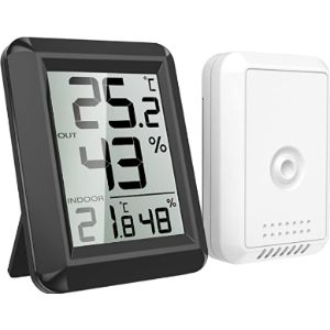 Visit The Brifit Store Outdoor Thermometer Humidity Gauge