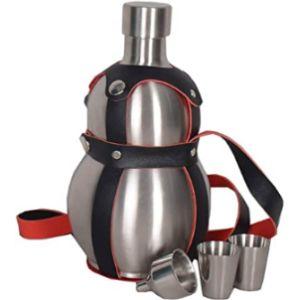 Hengyun Stainless Steel Wine Flask